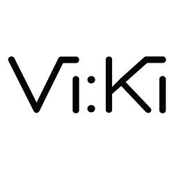 Logo til Klesbutikken Vi.Ki i Florø