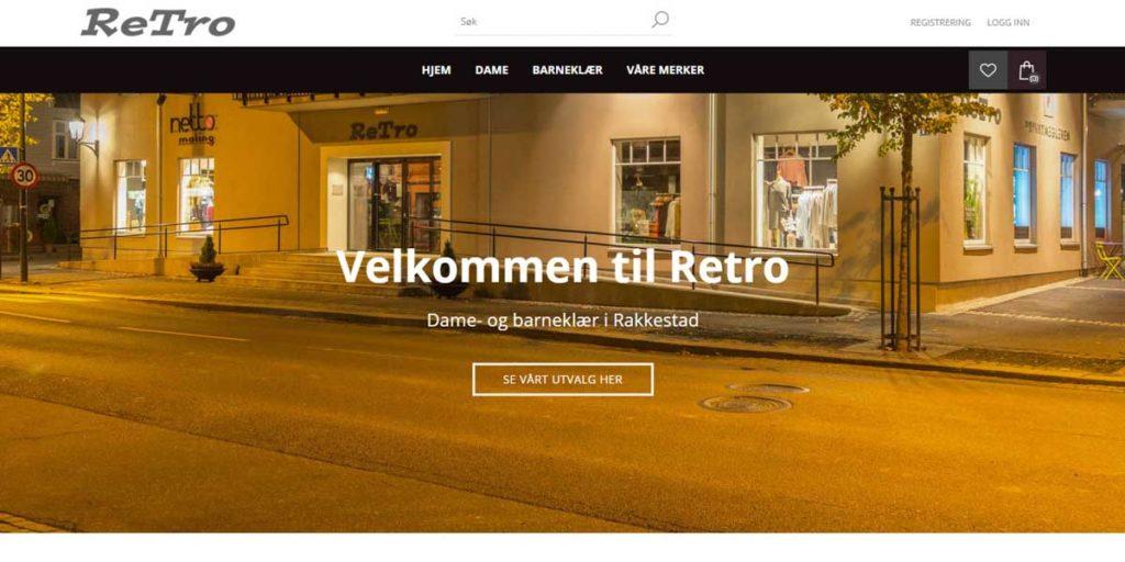 Retro Rakkestad på nett - nettbutikk